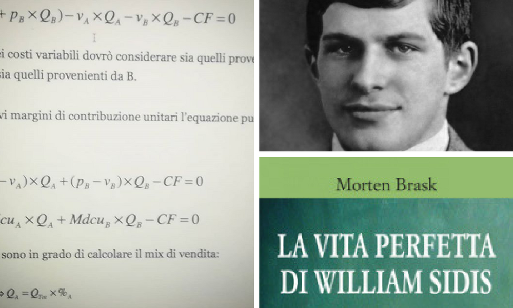 William Sidis, il fascino della difficoltà